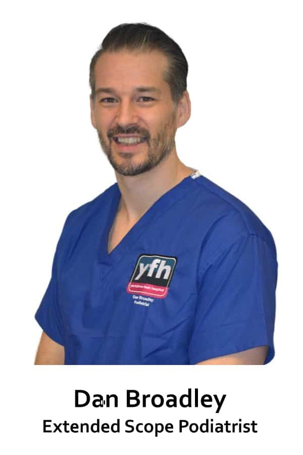 Dan Broadley- Podiatrist