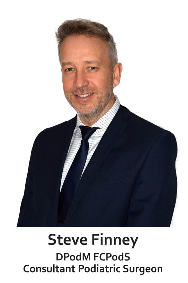 Steve Finney - consultant podiatric surgeon